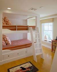 Built In Bunk Bed Bedroom Bunk Bed With Built In Stairs Twin Bunk Bed