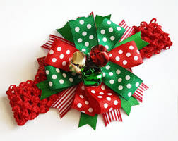 christmas hair accessories christmas hair etsy