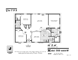 moble home floor plans tnr 44810w mobile home floor plan ocala custom homes