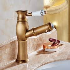 online get cheap nickel bathroom faucet aliexpress com alibaba new pull out antique kitchen faucet crystal copper sink nickel brushed kitchen mixer mixers faucets bathroom