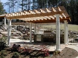 download outdoor kitchen with pergola garden design