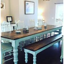 gray dining table with bench 26 best farmhouse table images on pinterest dinner parties