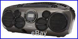 Rugged Boombox Player Portable Cd Player Boombox