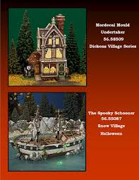 halloween village accessories department 56 halloween houses and accessories the brass lantern