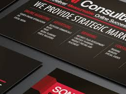 Singapore Business Cards Soni Consultants Business Card Design U2013 Lemon Graphic Singapore