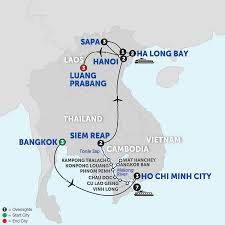 Laos World Map by Mekong River Cruise Avalon Waterways