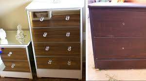 Cheap Furniture Diy Mirror Dresser Extremely Cheap Furniture Revamp 2017 Youtube