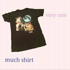 Funniest Doge Meme - doge meme howling moon t shirt doge meme doge and short sleeves
