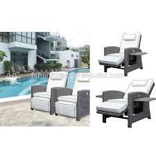 Reclining Sofa Chair by Trendy Multi Functional Outdoor Garden Rattan Wicker Recliners