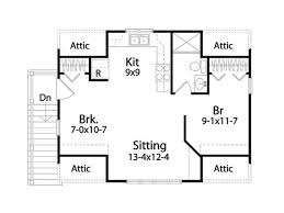 upper floor plan traditional style house plan 1 beds 1 00 baths 511 sq ft plan