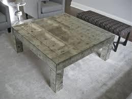 coffee tables dazzling diy mirrored coffee table with four legs