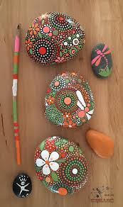 Paintings To Decorate Home by Hand Painted River Rocks Rock Art Painted Stone Natural Home