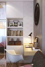 study areas computer desk small rooms from cable reel modern style