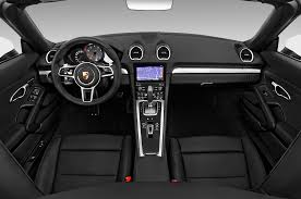 Porsche Boxster Base - 2017 porsche 718 boxster cockpit interior photo automotive com