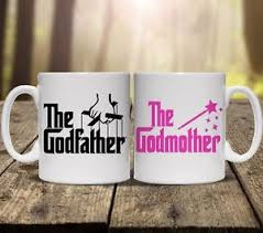 godmother mug the godfather godmother personalised mugs gift set cup tea add any