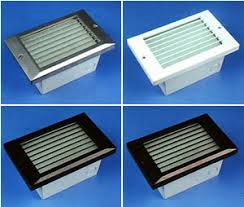 louvered step light cover nsl xenon step lights brand lighting discount lighting call