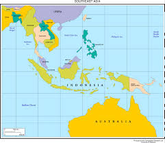 East Asia Map Map Of South East Asia Nations Online Project Inside Country