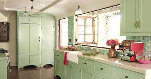 mint green kitchen cabinet for shabby chic kitchen ideas with