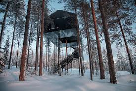 sleep under the northern lights this floating cabin lets you sleep under the northern lights