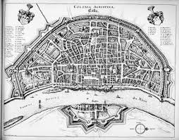 Cologne Germany Map by Cologne Germany Mid 17th Century City Maps Pinterest