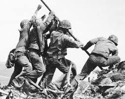 Flag Iwo Jima February Iwo Jima Flag Raiser