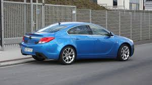 opel blue opel insignia opc in blue clearest spy photos yet motor1 com