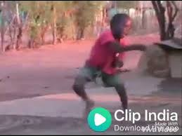 cute bot dance of africa child on ii indian music youtube