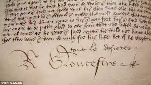 550 year old hand written book is signed by richard iii and