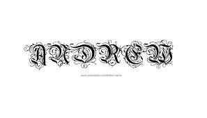vertical font idea on arm alyssa name design