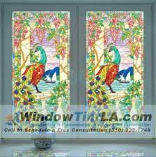 Decorative Window Film Stained Glass Decorative Window Film For Homes Window Tint Los Angeles