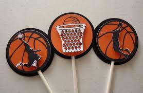 basketball cake toppers basketball cupcake toppers basketball cupcake rings 24 ct