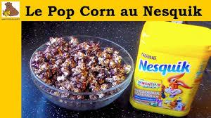 inventer une recette de cuisine pop corn au nesquik recette rapide et facile
