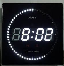 60 seconds creative timer round wall clock buy second mechanical