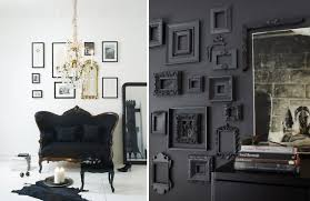 black decor back in black black home decorating ideas adorable home