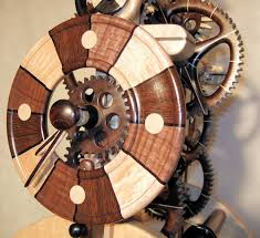 collection of magnificent woodworks all wood clocks by charles