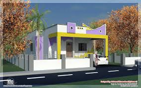 Home Design House Front In India Simple Village