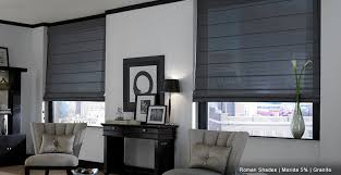 Flat Roman Shades - scoop up roman shades from 3 day blinds today