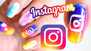 instagram logo 2016 nails social media nail art