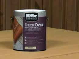 introducing new behr deckover solid color coating