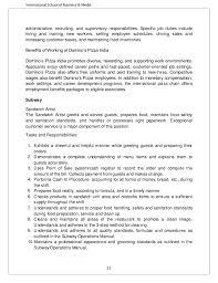 Resume For Subway Job by Customer Service Job Description For Resume Resume Sample Format
