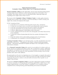 community college cover letter personal commitment statement examples cover letter gallery