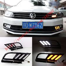 What Are Drl Lights Exact Fit Switchback Led Drl Lights W Turn Signals For Vw Jetta