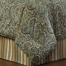 Paisley Comforters Delectablyyours Com Park Place Paisley Bedding Comforter Or Duvet