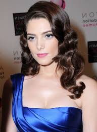 ashley greene with beautiful ombre ashley greene curly retro hairstyle hairstyles weekly