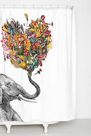 Elephant Curtains For Nursery Top Art Affectionate Blackout Ready Made Curtains Amazing