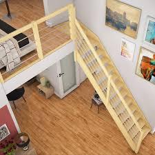 dolle treppe dolle raumspartreppe fichte 1 4 gewendelt oben