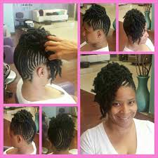 cornrow and twist hairstyle pics partial bomb twist cornrow combo by styleseat pro shaketa tyler