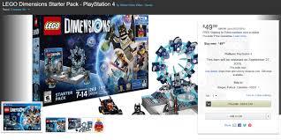 lego dimensions black friday 2016 on amazon lego dimensions deals aug 28 sep 3 bricks to life