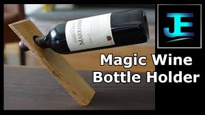 how to build a magic wine bottle holder youtube