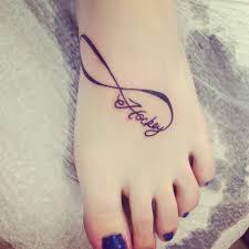 feather on foot tattoo 7 infinity foot tattoos ideas